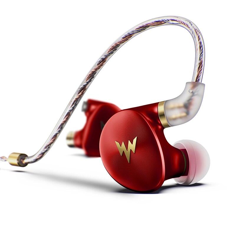 Image 2 - kulaklık A HE03 HiFi Bass Earphones Hi Res Headsets Hybrid Armature 2Pin Connector 3.5mm In Ear Monitors HiFi Earbuds  kulaklı-in Earphones from Consumer Electronics