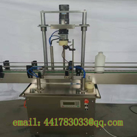 Automatic Single Head Capping Machine Plastic Bottle Capping Machine Threaded Glass Bottle Sealing Machine