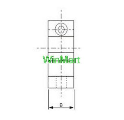 2sk 20 20mm Bearing Cnc Aluminum Rail Linear Motion Shaft Support