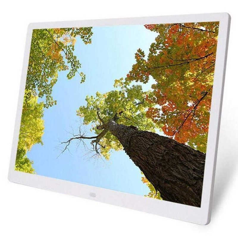 15.4 inch HD  Digital Photo Frame MP3 MP4 Movie Player Alarm Photo Frames Photo Digital Photos Frames