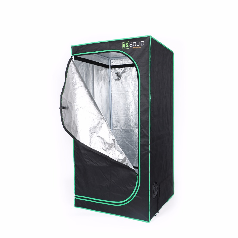 Здесь продается  U.S. Solid Grow Tent 48x48x80 cm Hydroponic Grow Room Tent with High Strength Mylar Lined Fabric and a Strong Zipper  Инструменты