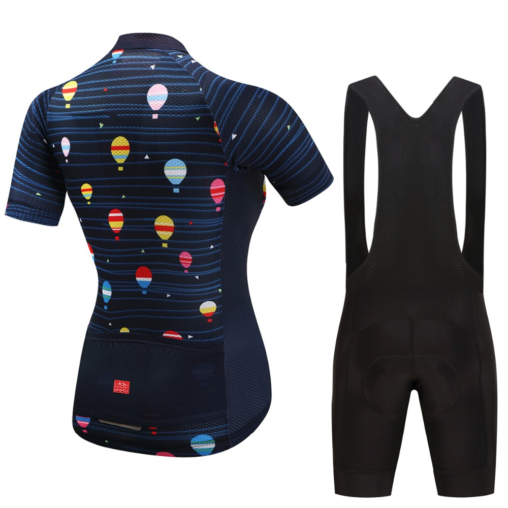 FUALRNY Women's Cycling Sets Bike Cycling Clothing Women Pro Team Bicycle Clothes Mtb Jersey Cycling Jerseys 2018 Ciclismo Ropa