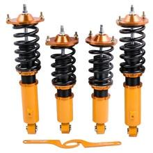 สำหรับMAZDA Miata 90 05 96 98 NA NB MX5 Coilovers Suspension Strut Shocks