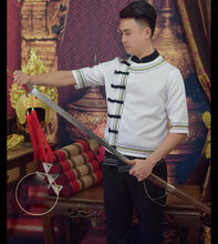 Традиционная одежда для джентльменов Тайланд Юньнань дай race