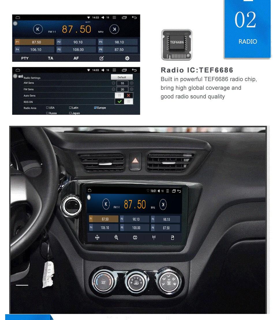 SC9853 喧騒車のラジオ ユニバーサルカー 3