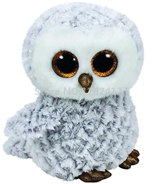 Ty Beanie Boos Plush Animals Owlette The Owl Medium 10 25cm Cute