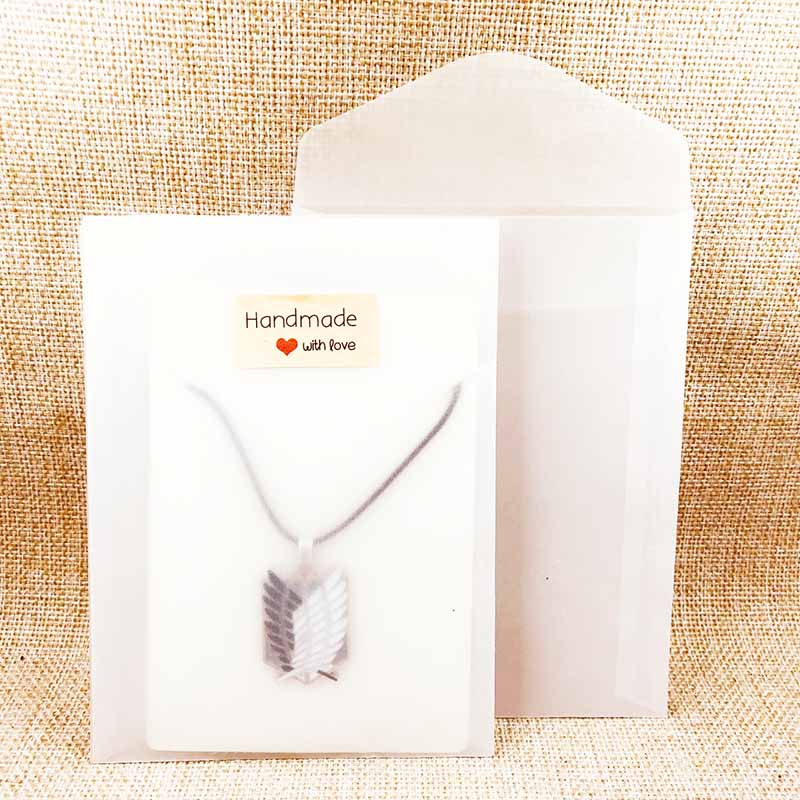 20pcs Frosted Pendante/Necklace Bag Jewelry Packing Gift Bag Not For Food 11.5x15cm Necklace Card Pendant Card
