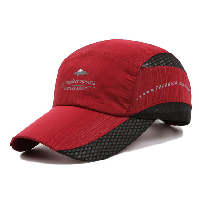 Kioninai 2018 Summer Ourdoor Sports Cap Men Quick-drying Thin Light Breathable Snapback Hat Male Hiking Fishing Basebabll Cap 4