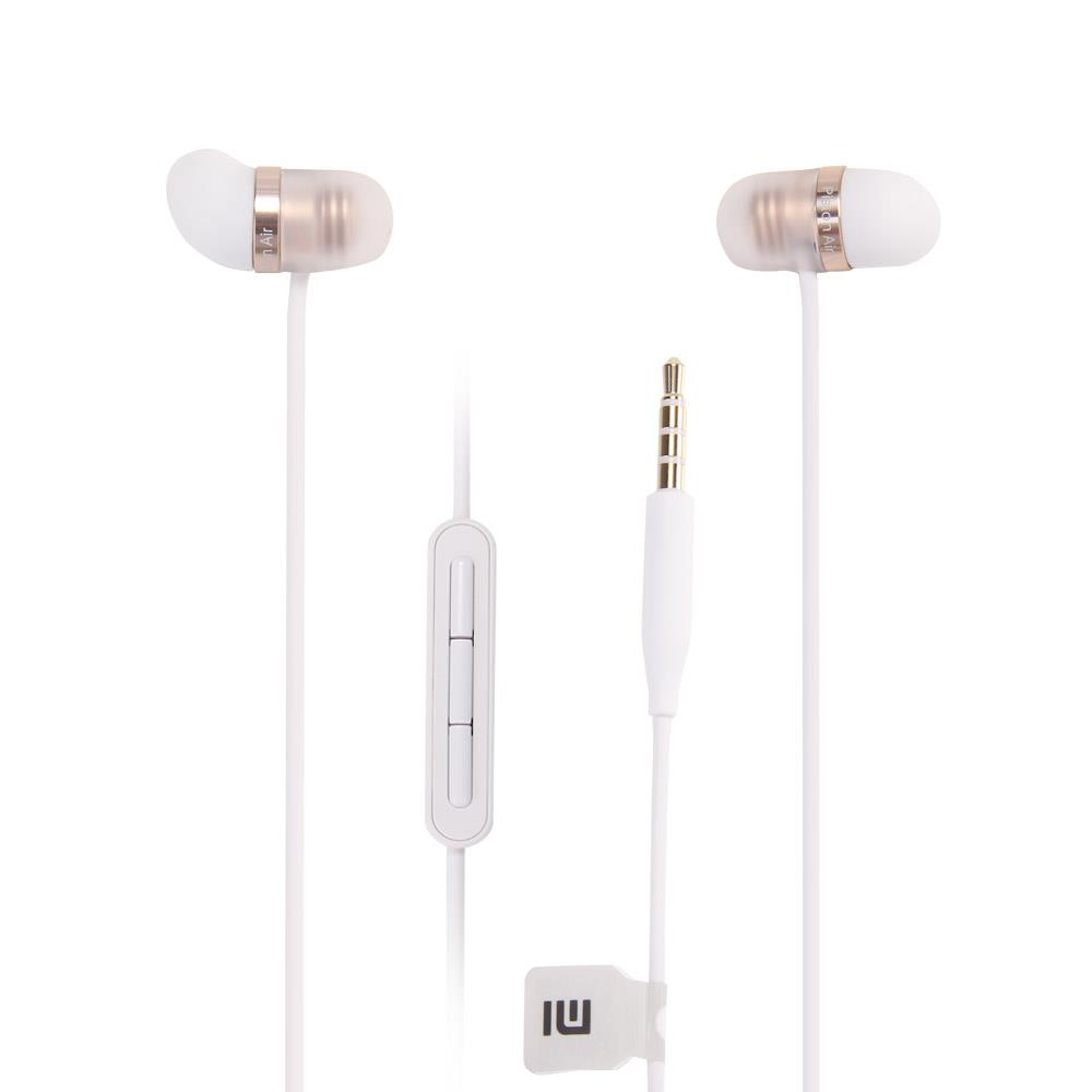 Original Xiaomi Capsule Earphone Xiaomi Piston Silicone Earbuds Earphone with Mic for iPhone XiaoMi mi5 Huawei redmi pro mobile changchai 4l68 engine parts the set of piston piston rings piston pins