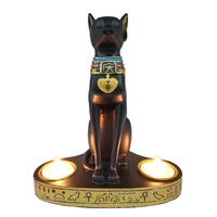 2019-new-moylor-ancient-egypt-bastet-cat-goddess-statue-with-2-tea-light-candle-holders-75-tall-g