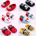 2016 First Walkers Baby fringed toddler shoes soft bottom baby cartoon modelling shoes baby red pirates love mom dad  shoes