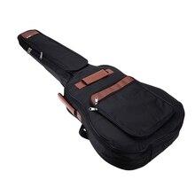 TOP!-41inch Guitar Backpack Shoulder Straps Pockets 8mm Cotton Padded Gig Bag Case цена и фото