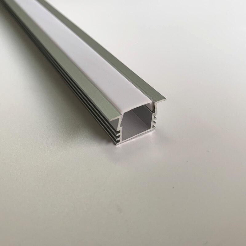 TS10 profil de bande à LED profil en aluminium pour ampoules LED conduit en aluminium pour bande de LED logement