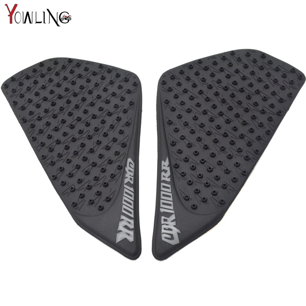 Pair Of Anti-slip Gas Tank Traction Pad Knee Grip Sticker For Honda Cbr1000rr 2004 2005 2006 2007 Motorcycle Accessories Motorbike Accessories