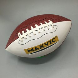 Tallas 9 PU balón de fútbol americano estándar Rugby EE. UU. balón de fútbol americano pelota de Rugby de EE. UU.