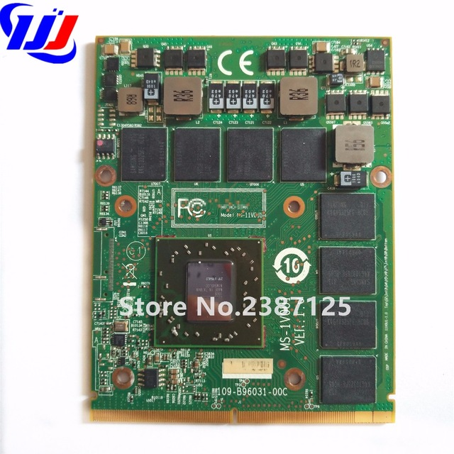 New for MSI MS 16F1 16F2 16F3 1656 1727 Notebook PC Graphics Video Card ATI Mobility Radeon HD 5870 HD5870 1GB GDDR5 Drive Case dhl ems free shipping new ati radeon 9550 256mb ddr2 agp 4x 8x video card from factory 50pcs lot
