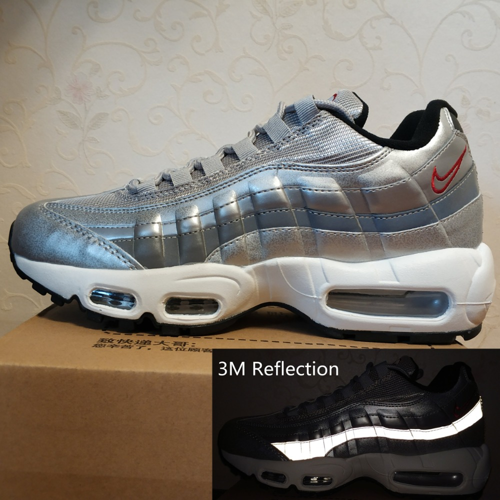 Men's Sliver Air Sneakers Max Reflective 95 Running Shoes Boots