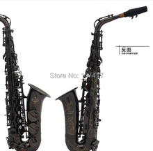 2015 New Eb Alto Saxophone Mouthpiece Musical Instruments Alto Sax E Flat Saxophone Music Stand Reed Send Special Accessories