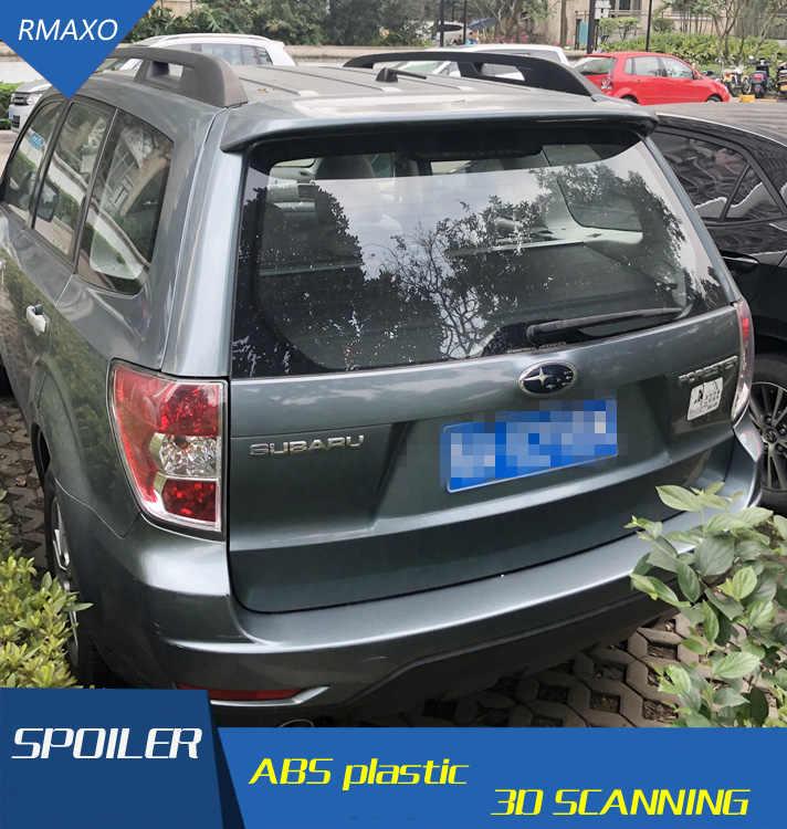 עבור פורסטר ספוילר 2009-2014 סובארו פורסטר ספוילר ABS חומר רכב אחורי אגף פריימר צבע האחורי ספוילר