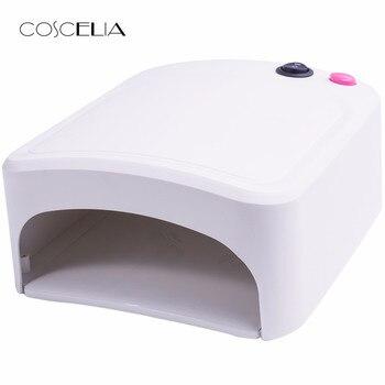 36W UV Lamp Gel Nail Dryer White UV Nail Lamp Curing for UV Nail Gels Polish Nail Art Tools Hot Sale 818