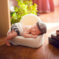 Newborn Posing Sofa Baby Props for Photography Shooing Posing Prop Newborn Photography Props Blanket Boy Photoshoot Accessories