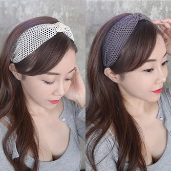 2018 New Simple Knotted Wide Hairband women girls hair head hoop band accessories Lace headband female Holder headwear headdress