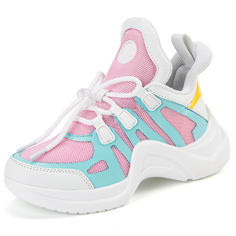Children's sports shoes girls 2019 new autumn boys breathable old shoes casual shoes ins super fire
