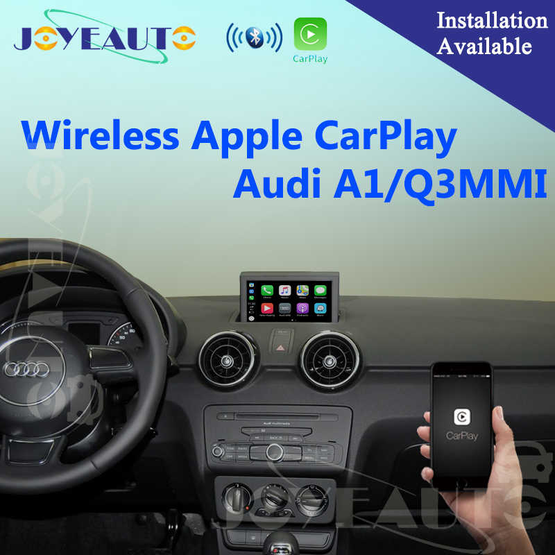 Aftermarket A1 Q3 MMI OEM Wifi Wireless Apple CarPlay Interface Retrofit  for Audi with Touch Screen Reverse Camera