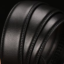 New High Quality Automatic Metal Buckle Leather Belt