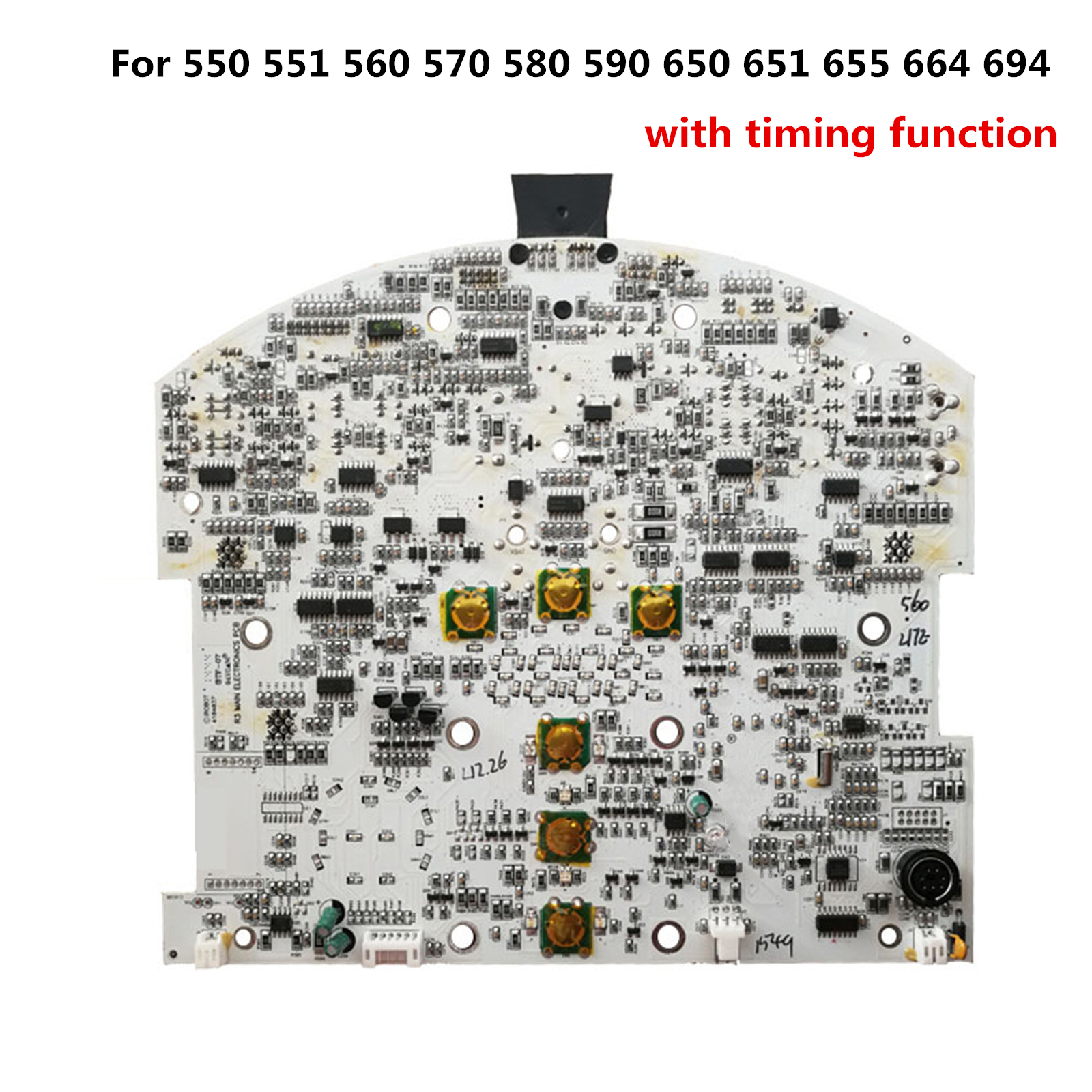 <font><b>PCB</b></font> Motherboard For iRobot Roomba Vacuum Cleaners 500 600 series with timing function Circuit Board Mainboard for 550 664 694 image