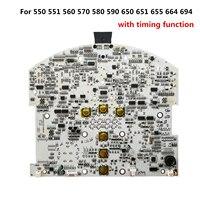 PCB Anakart Için iRobot Roomba elektrikli süpürgeler 500 600 serisi zamanlama fonksiyonu ile devre Anakart için 550 664 694