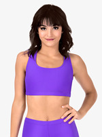 d4d2199ec Women Bra Crop Top Tank Short Sleeve Dance Performance Show Ballet New Pole  Dancing
