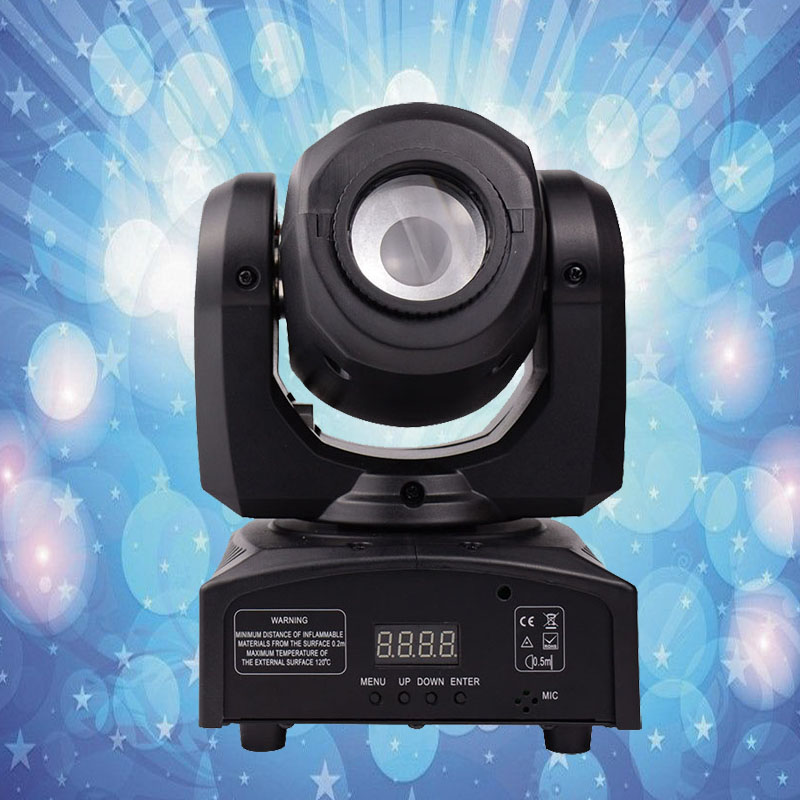 Professional LED Moving Head Spot Light  10W LED Spot Gobos Moving Head DMX 9/11 Channels DJ Spot Light & Night Club Light