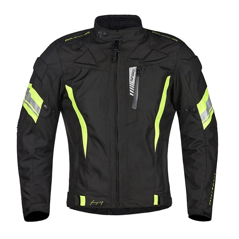 цена на Motorcycle Jacket Motorbike Riding Jacket Waterproof Motorcycle Full Body Protective Gear Armor Autumn Winter Moto Clothing