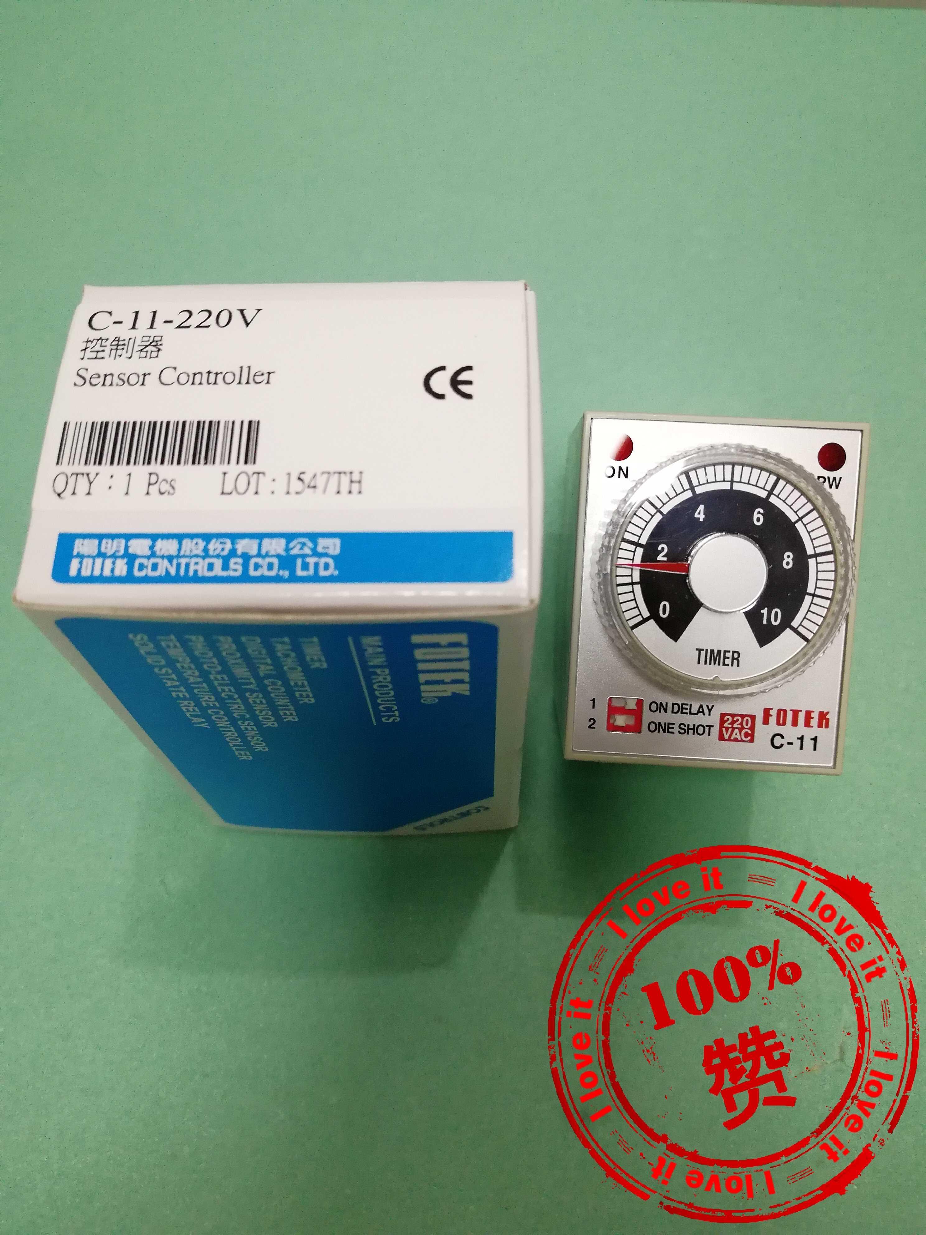 100% nouveau contrôleur original C-11-220V 220V fausse pénalité 10
