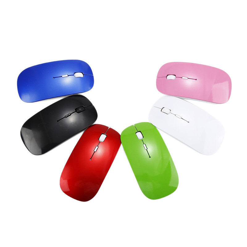 Wireless Mouse Silent Computer Mouse PC Mause Portable Ergonomic Mouse 2 4Ghz USB Optical Mice For