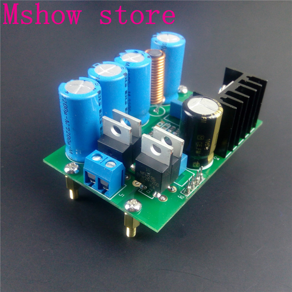 Mshow LT3042 low noise high precision power supply module CLC filter circuits Ultra low noise high