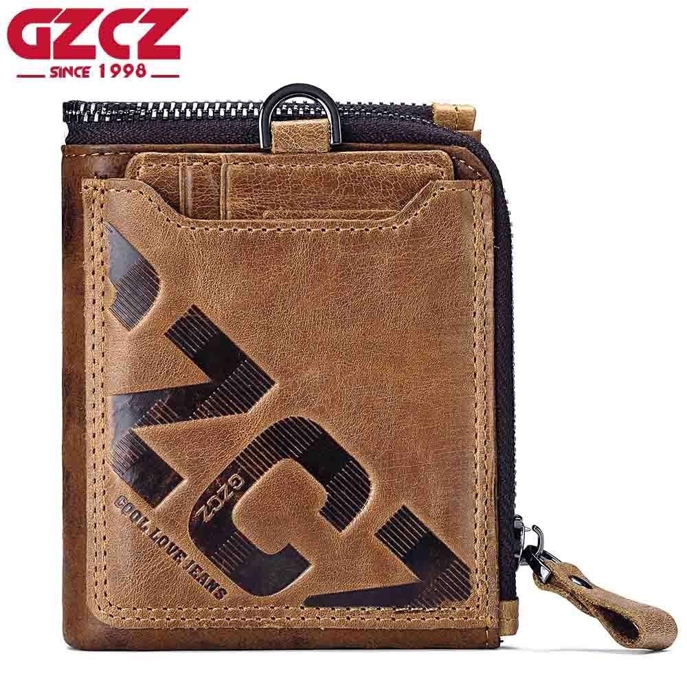 GZCZ Wallet Men Coin