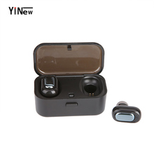 TWS L1 Mini Dual V4.2 Wireless Earphones Bluetooth 3D Stereo Sound Earbuds with Microphone and Charging Box