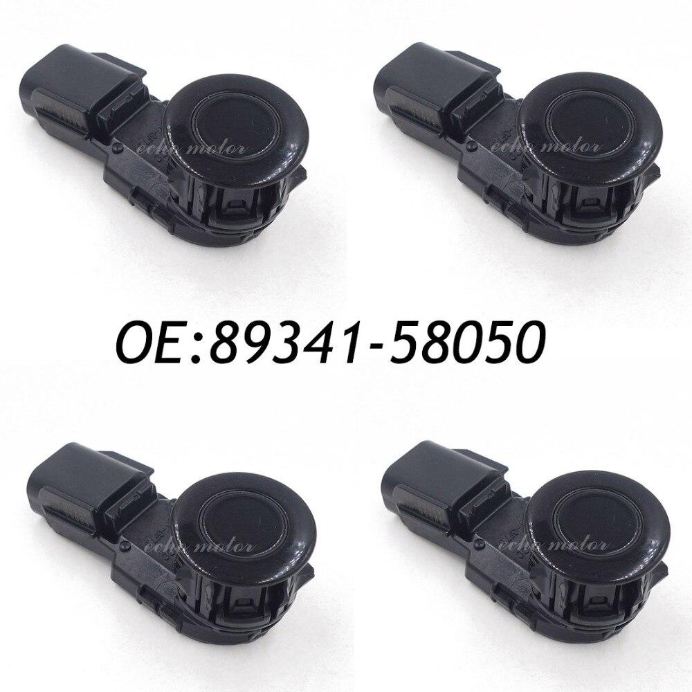 4 pièces capteur d'assistance de stationnement à ultrasons de secours PDC pour Toyota 89341-58050 43500