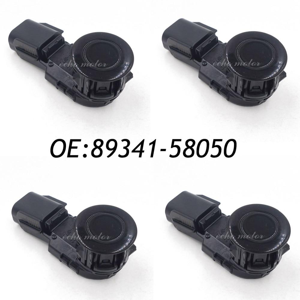4PCS PDC Ultrasonic Backup Parking Assist Sensor For Toyota 89341-58050 43500 new reverse backup assist pdc parking sensor fits bmw e39 e46 e53 e60 e61 e63 e64 e65 e66 e83 66200309540 66206989069