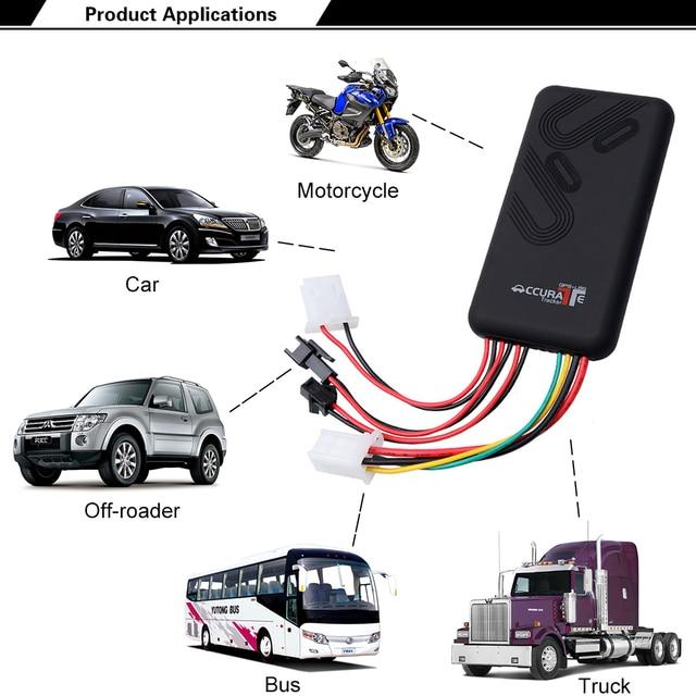 5e743b85e GPS GSM GPRS Rastreador GT06 Para ACC alarme anti-roubo Do Carro two-way