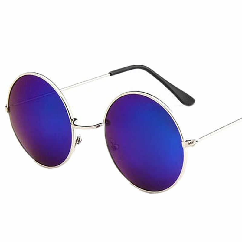 aa82dcff407 ... New Brand Designer Classic Round Sunglasses Men Small Vintage Retro  John Lennon Glasses Women Driving Metal