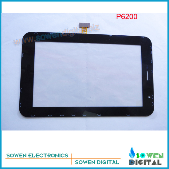 for Samsung GALAXY Tab P6200 touch screen digitizer touch panel,Black,Best quality