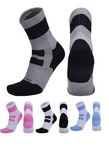 Towel Socks Sweat-Absorbent-Socks Roller-Skating Basketball Sports Cotton Women Fashion