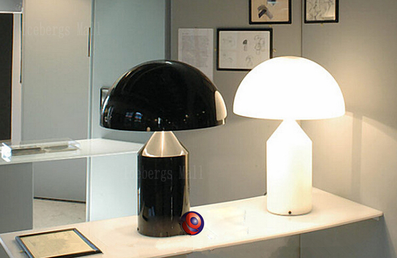 Replica Design Lampen : Moderne metall pilz schreibtisch lampe italien replik designer