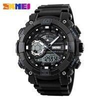 SKMEI Fashion Outdoor Sports Watches Men Electronic Quartz Digital Watch 50M Waterproof Military Wristwatches Relogio Masculino