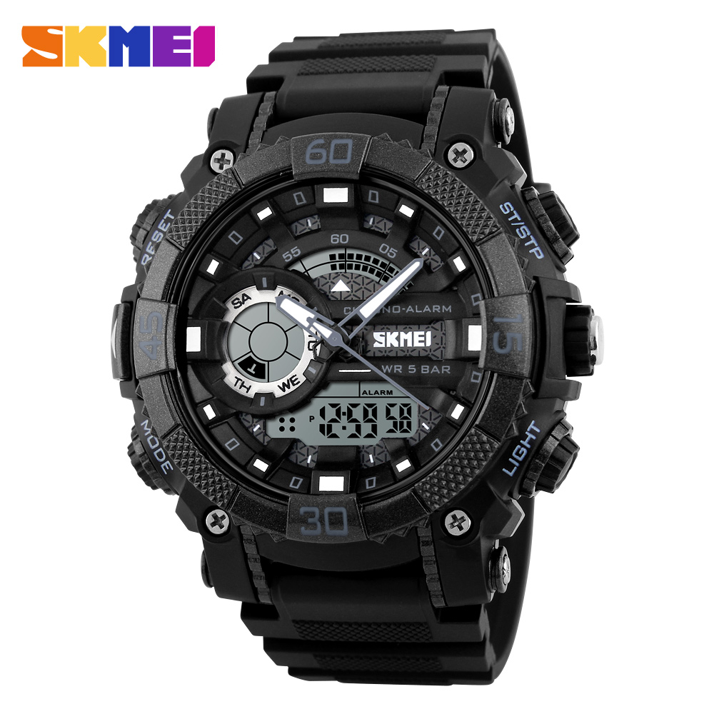 SKMEI Fashion Outdoor Sports Watches Men Electronic Digital Watch Woman Waterproof Military Wristwatches Relogio Masculino 1228 skmei outdoor sports watches men quartz digital waterproof military watch fashion casual multifunction student men wristwatches