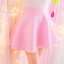 Sweet High Waist Elegant Skirt Casual