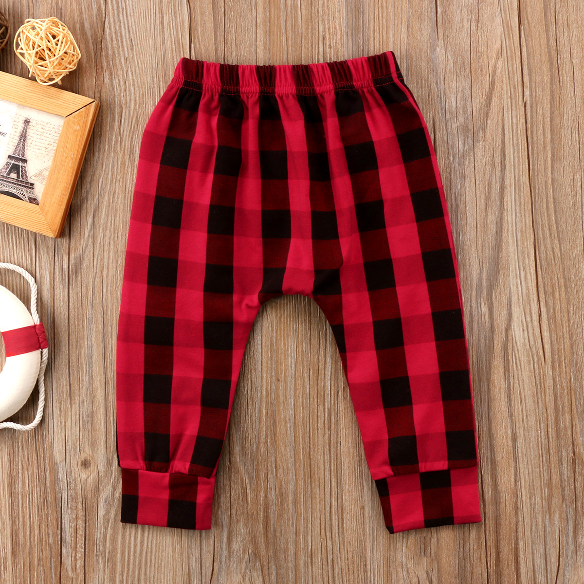2018 Brand New Toddler Infant Child Kids Baby Boy Plaid Harem Long Pants Leggings Checked Zipper Patchwork Pants Clothing 1-6T